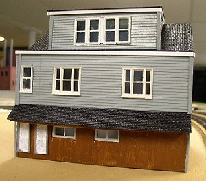 "Barry Hensel's scratchbuilt model of ""The House at Schuylkill Haven"""