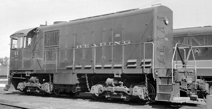 Alco HH900 #41, one of two such locomotives in service on the Reading.